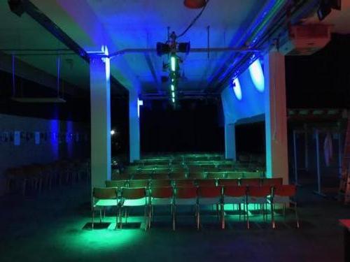 Saalbeleuchtung Konzertbestuhlung